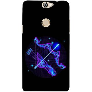 Fuson Designer Phone Back Case Cover Coolpad Max ( Arrows Are Sharp )