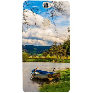 Fuson Designer Phone Back Case Cover Coolpad Max ( The Boat Ride )