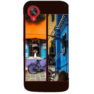 Fuson Designer Phone Back Case Cover LG Nexus 5 :: LG Google Nexus 5 :: Google Nexus 5 ( Colourful Walls )