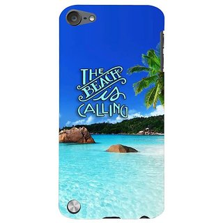 Fuson Designer Phone Back Case Cover Apple IPod Touch 5 :: Apple IPod 5 (5th Generation) ( Holidaying By The Beach )