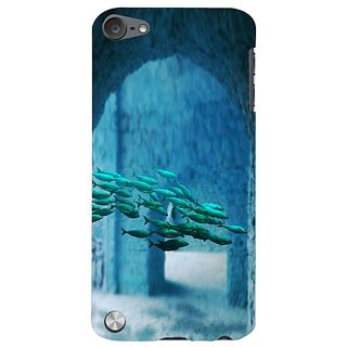 Fuson Designer Phone Back Case Cover Apple IPod Touch 5 :: Apple IPod 5 (5th Generation) ( A School Of Fish )
