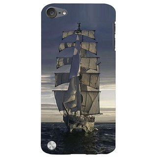 Fuson Designer Phone Back Case Cover Apple IPod Touch 5 :: Apple IPod 5 (5th Generation) ( Returning From A Journey )