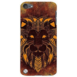 Fuson Designer Phone Back Case Cover Apple IPod Touch 5 :: Apple IPod 5 (5th Generation) ( Mask With Lion'S Face )