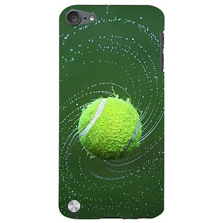 Fuson Designer Phone Back Case Cover Apple IPod Touch 5 :: Apple IPod 5 (5th Generation) ( The Playful Tennis Ball )