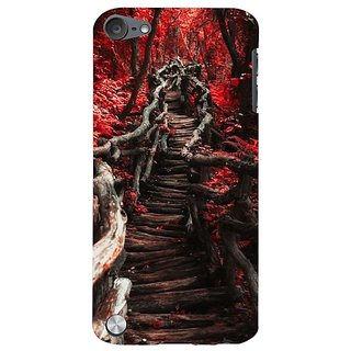 Fuson Designer Phone Back Case Cover Apple IPod Touch 5 :: Apple IPod 5 (5th Generation) ( Woody Path To The Forest )