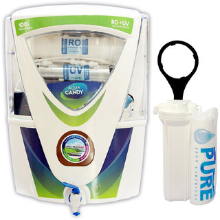Earth RO Systems RO+UV+UF+TDS controller water purifier free pre filter 12 Ltr