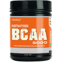 Medisys Instantized BCAA 5000 - Orangey - 400gm