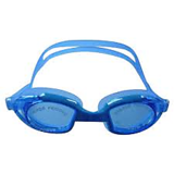 IMPORTED  ANTI FOG SWIMMING GOGGLES+EAR PLUG FREE( BLUE COLOR)
