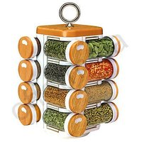 Spice Jars, Multipurpose, Compact,16 In One, Rotating, Kitchen Spice Jar