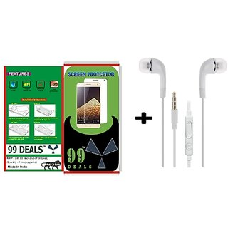 99 deals tempered glass for Samsung Galaxy Grand Neo with earphone
