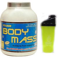Stamin Nutrition Bodymass 2Kg Chocolate With Free Shaker