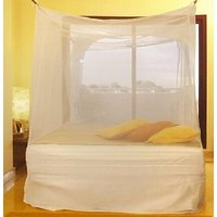 6x6 feet Double bed Mosquito net deluxe quality