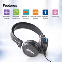 Envent LiveFun 550 Stereo Bluetooth Headphone with Mic