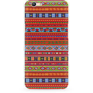 CopyCatz Ethnic Pattern Abstract Premium Printed Case For Oppo F1S