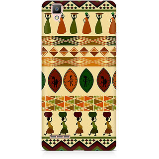 CopyCatz Lady With A Pot Premium Printed Case For Oppo F1 Plus