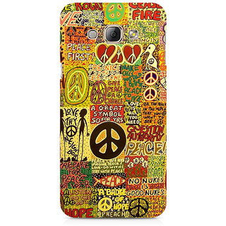 CopyCatz Hippy Peace Premium Printed Case For Samsung A3 2016