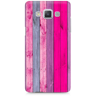 CopyCatz Pink Wood Shade Premium Printed Case For Samsung A5