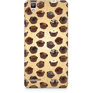 CopyCatz Chocolate Cupcake Premium Printed Case For Oppo F1 Plus