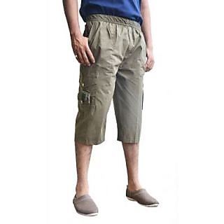 Paper Cotton Cargo Shorts For Mens