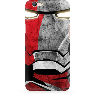 CopyCatz Red Soldier Premium Printed Case For Oppo F1S