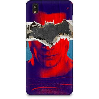 CopyCatz Superman With Batman Logo Premium Printed Case For OnePlus X