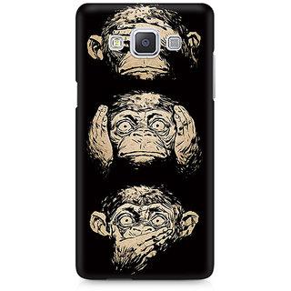 CopyCatz Three Wise Monkeys Premium Printed Case For Samsung A7
