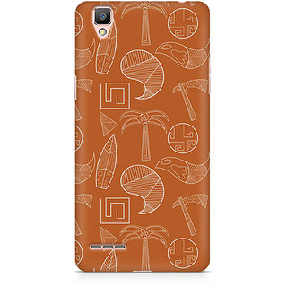 CopyCatz Tribal Tools Premium Printed Case For Oppo F1