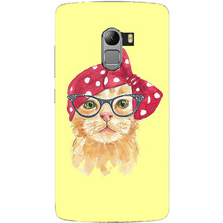 Saai Creations Multicolor Graffiti  Illustrations Lenovo Vibe K4 Note Plastic Back Cover SCK4301