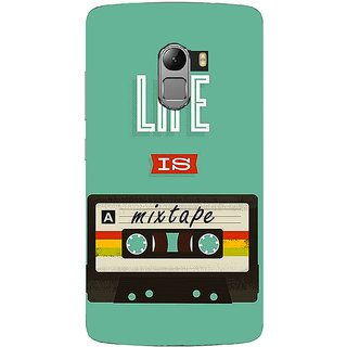 Saai Creations Multicolor Graffiti  Illustrations Lenovo Vibe K4 Note Plastic Back Cover SCK4399