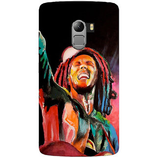 Saai Creations Multicolor Graffiti  Illustrations Lenovo Vibe K4 Note Plastic Back Cover SCK4063