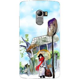 Saai Creations Multicolor Graffiti  Illustrations Lenovo Vibe K4 Note Plastic Back Cover SCK5208