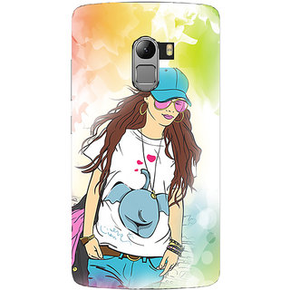 Saai Creations Multicolor Graffiti  Illustrations Lenovo Vibe K4 Note Plastic Back Cover SCK5209