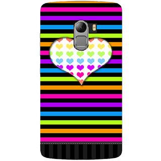 Saai Creations Multicolor Graffiti  Illustrations Lenovo Vibe K4 Note Plastic Back Cover SCK4638