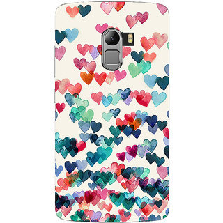 Saai Creations Multicolor Graffiti  Illustrations Lenovo Vibe K4 Note Plastic Back Cover SCK4071