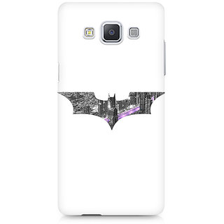 CopyCatz Bat Logo Arkham City Premium Printed Case For Samsung A5