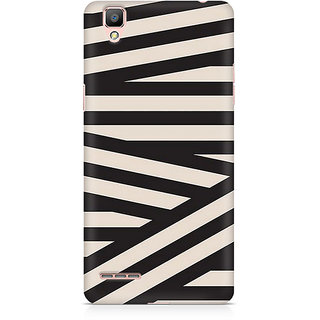 CopyCatz Criss Cross Premium Printed Case For Oppo F1 Plus