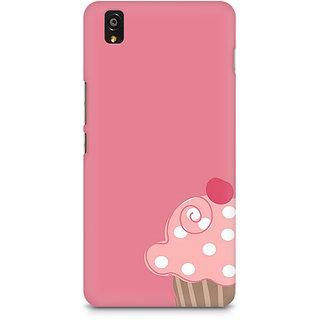 CopyCatz Cute Cupcake Pink Premium Printed Case For OnePlus X