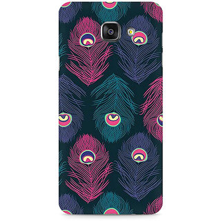 CopyCatz Peacock Fethers Premium Printed Case For Samsung A510 2016 Version