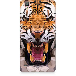 CopyCatz Roaring Tiger Premium Printed Case For Oppo F1