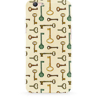 CopyCatz Skeleton Key Premium Printed Case For Oppo F1S