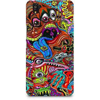 CopyCatz Surreal Colorful Physchedelic Premium Printed Case For OnePlus X