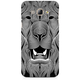 CopyCatz Wavy Lion Premium Printed Case For Samsung A3 2016