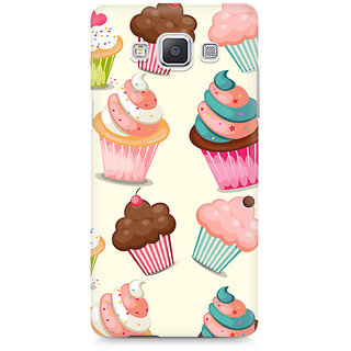 CopyCatz Cute Cupcakes Premium Printed Case For Samsung A7
