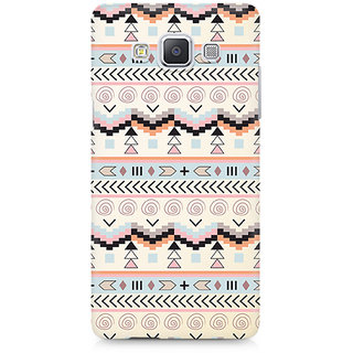 CopyCatz Tribal Chic07 Premium Printed Case For Samsung A7