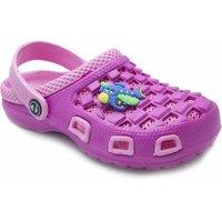 Phedarus Girls Pink Comfortable EVA Clogs