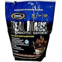 Gaspari Nutrition Real Mass Probitic Ser Vanilla Milkshake 6Lbs