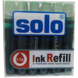 Solo Wbr03 White Board Marker Refill Green Color (Pack Of 24)