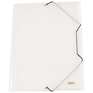 Elastic Folder (Pack Of 1, Natural)