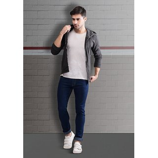 Stylox Dark Blue Jeans For Men