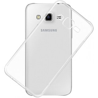 Thin Soft Silicon Transparent Back Cover for Samsung Galaxy J5